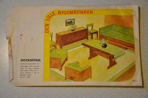 Den lille byggmästaren - Lindqvists dockmöbler
