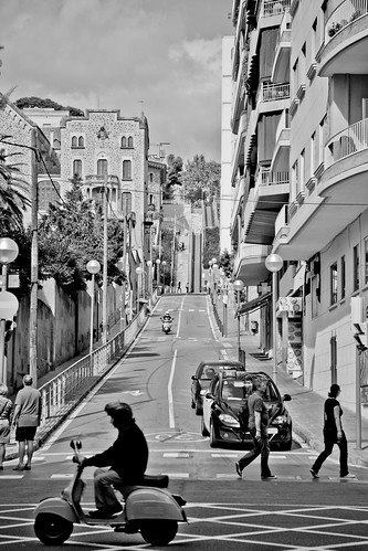 Street - Barcelona by Tril0gy