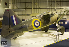 R9125 - Royal Air Force - Westland Lysander III - 080203 - RAF Museum Hendon - Steven Gray - IMG_7373