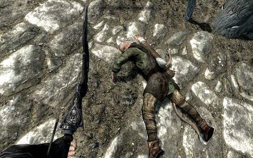 Faendal gets in the wrong place at the wrong time