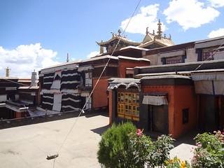 Mosteiro Tashilhunpo em Shigatse, Tibete