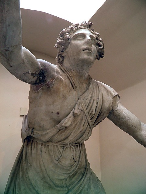 Mithras, from the Mithraneum of the Baths of Mithras, 1st century AD, Ostia Antica, Italy