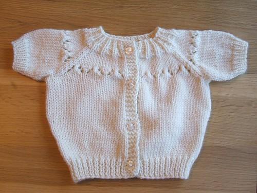 Drops baby cardigan