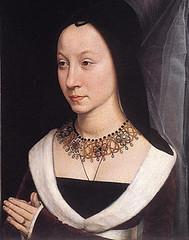 Hans Memling (1475), Esposa de Tomás Portinari