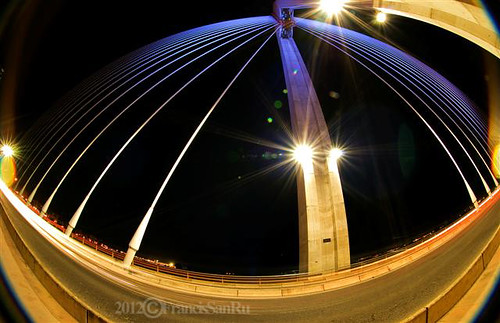 Puente Real fisheye.