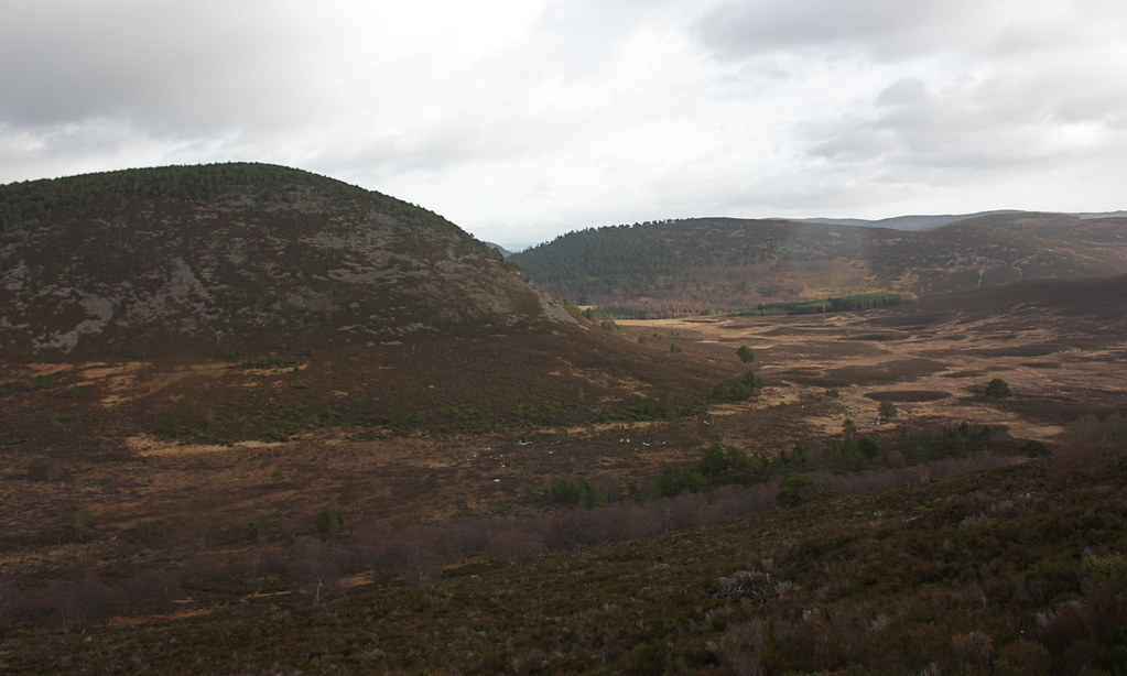 Towards Glen Girnock
