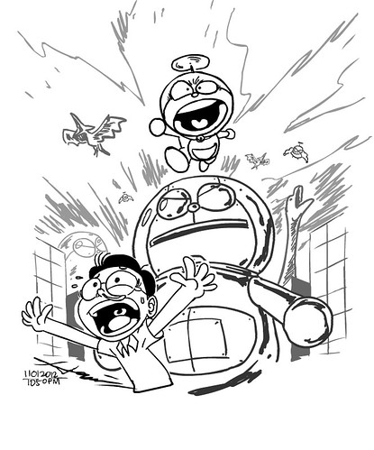 ‎11012012 - Doraemon Attack! by hamifaizal mohsin