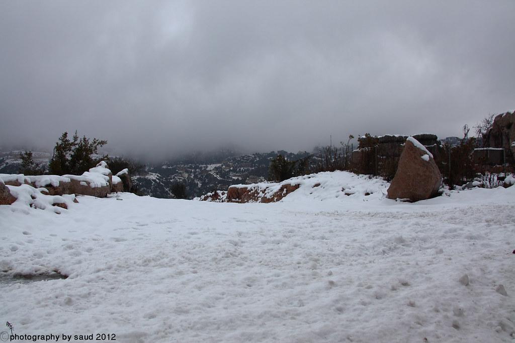 بيروت الشتاء مايحمله وثلوج وأمطار وضباب 6697179775_a6491724b