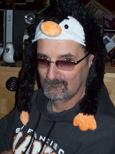 I have a penguin hat