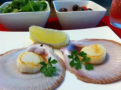 Scallops on Half Shell by mjd-s
