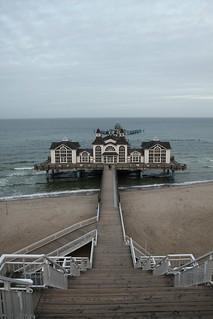 Hauptstrand közelében Ostseebad Sellin képe. sea beach strand meer 2012 selin rügen seebrücke