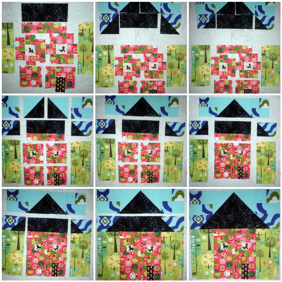 Let's build Your House - Home Sweet Home Quilt Along