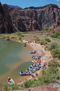 Grand Canyon National Park: Phantom Ranch Boat Beach 0028