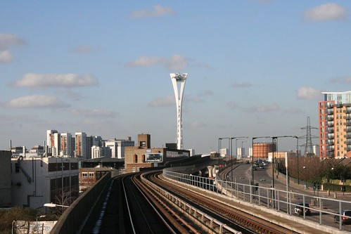 Northern Pylon from a DLR station