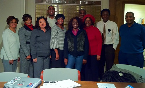 The Lanising Neighborhood Team—January 2012