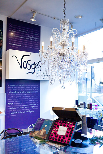 Vosges' front of the store