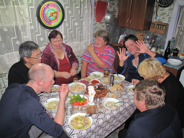 Dinner at Nadia's