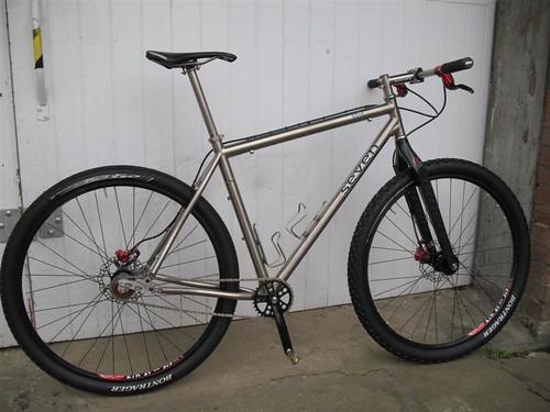 F.s. 19\'\' Seven Sola SL 29er Single Speed full bike – Singletrack ...