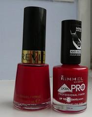 bright red comparison