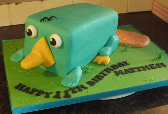 perry the platypus cake | didnt know who perry the ...