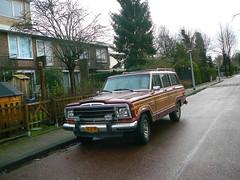 Jeep Wagoneer, 1986, Amsterdam, Hendrik van Wijnstraat, 01-2012