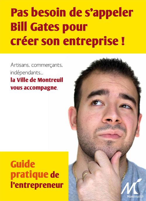 Guide pratique de l'entrepreneur de Montreuil - Janvier 2012