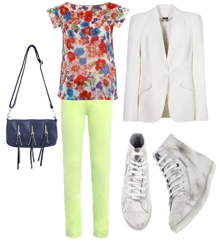 How to Wear Florals Outfit2