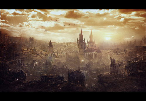 The end of the world...  Praga.