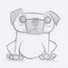 Dog Sketch 1.23.12