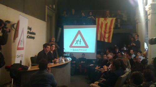 Diem Prou — presentació Col·legi de Periodistes de Catalunya