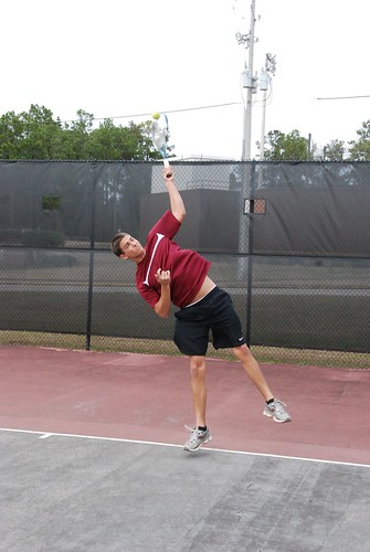 Tennis Action Shots
