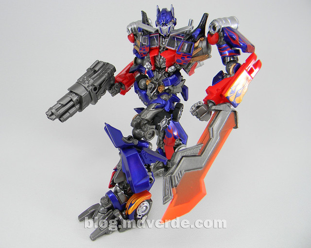 Transformers Optimus Prime - Dark of the Moon - Sci-Fi Revoltech