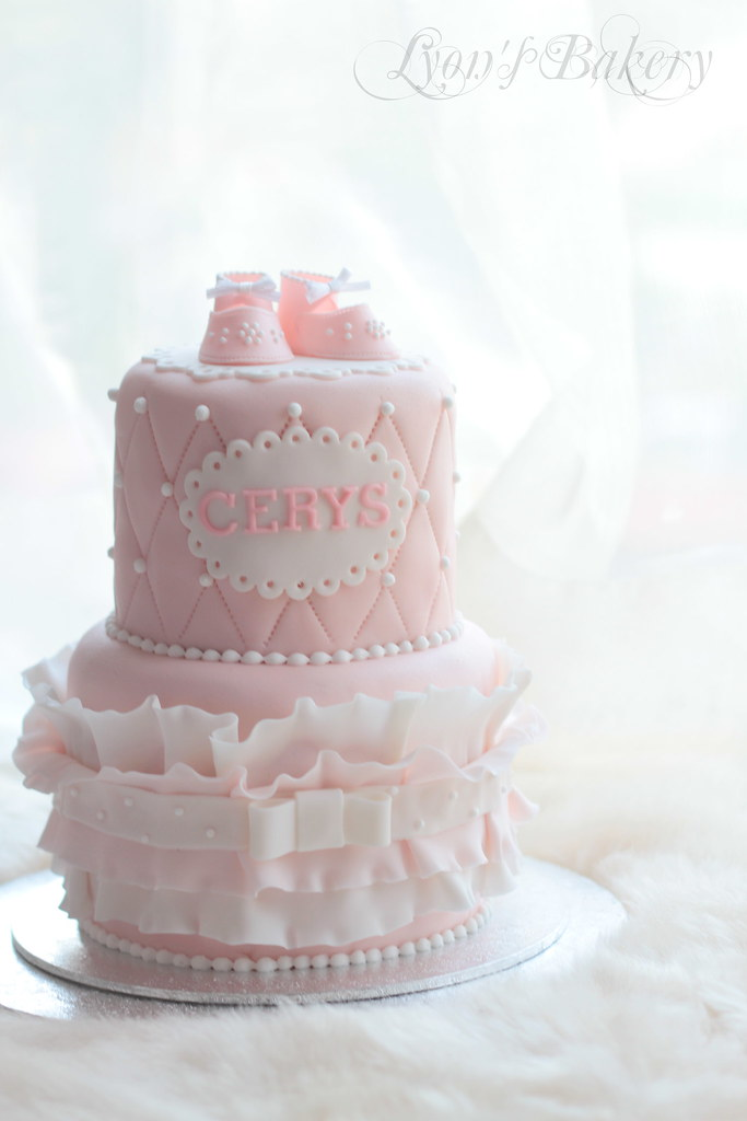 Beautiful Cake Images For Baby Girl : cerys bd cake Flickr - Photo Sharing!