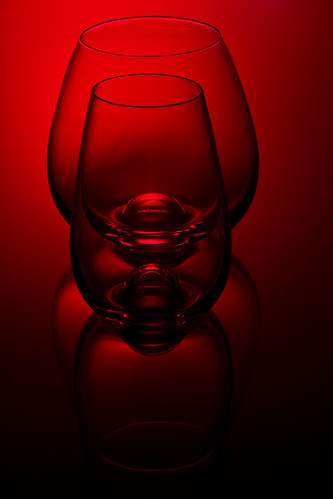 red glass by McBeth