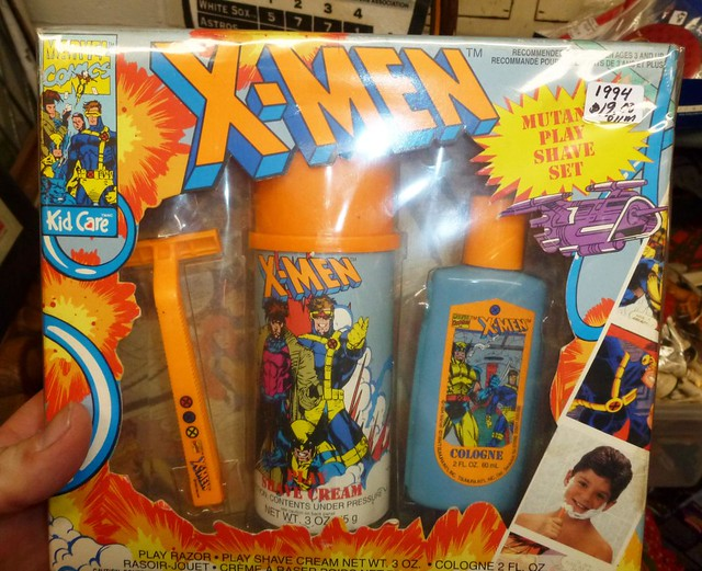 X-Men Mutant Play Shave Set at Winter Wheat Antiques