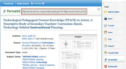 Link to Articles - Integrating Library Resources into Canvas