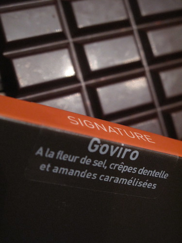 Henri Le Roux chocolate, France