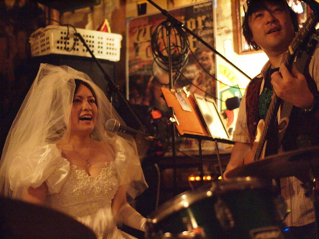 "The Warrior Celt ""just married"" session, Tokyo, 28 Jan 2012. 164"
