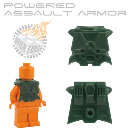 Powered Assault Armor - Dark Green