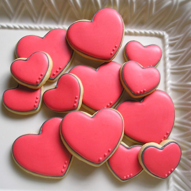 Heart Sugar Cookies with Royal Icing | Flickr - Photo Sharing!