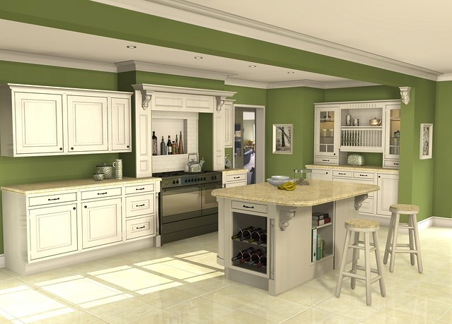New Remodeled Kitchens With White Caiets