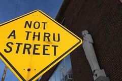 Not a Thru Street
