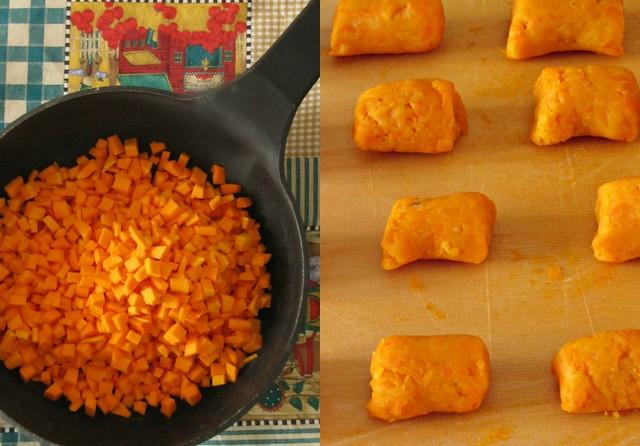 Gnocchi di Zucca con Pancetta Croccante al Limone (2)