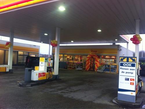 Ballontoef Shell Oostvoorne