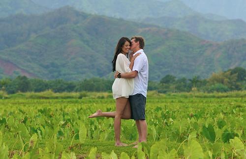 Kiss In Kauai by Bob Cox