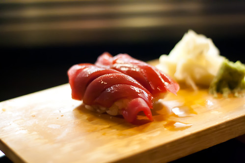 Blue Fin Tuna Sushi at Kaito
