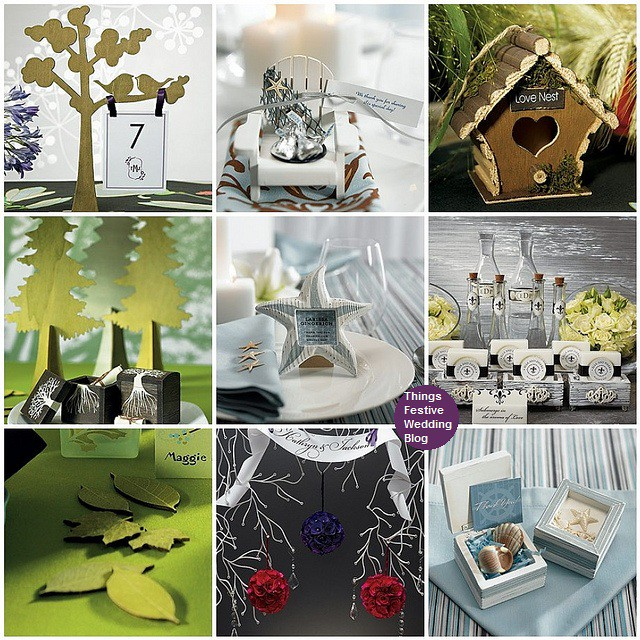 Finding wooden wedding decorations that complement most wedding themes is a