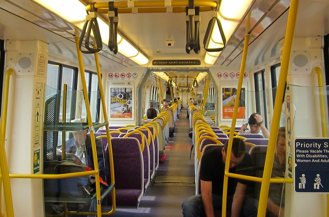 Brisbane train interior