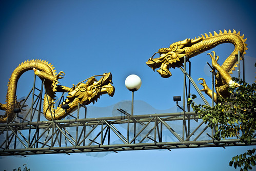 Dragons at Chinatown