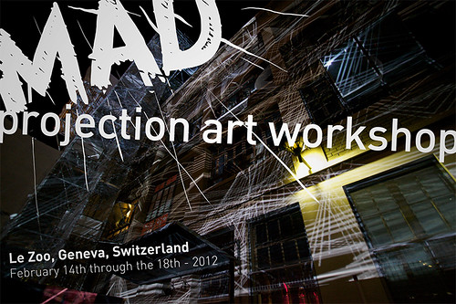 MAD projection art workshop